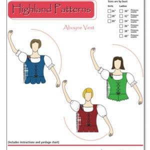 Aboyne Vest Pattern