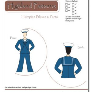 Hornpipe Blouse and Pants Pattern