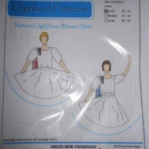 National (Jig) Dress/Blouse/Skirt Pattern
