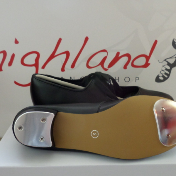 Low Heel PU Tap Shoes with Heel Taps
