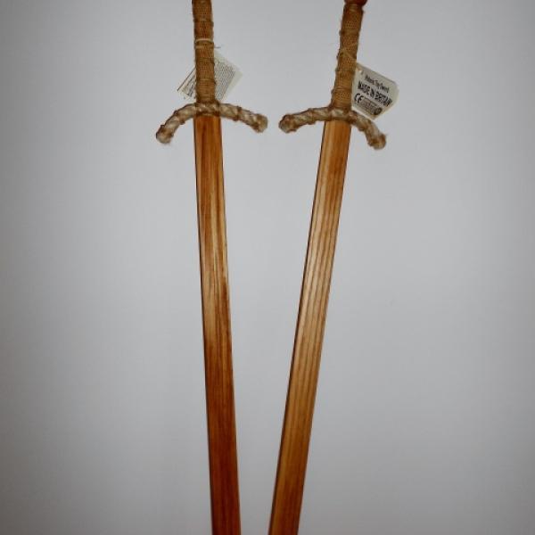 Wooden Practice Dance Swords