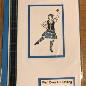 Highland Dancer Cards