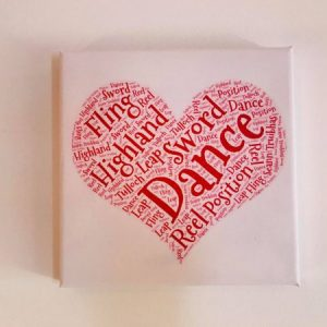 Highland Dance Canvas
